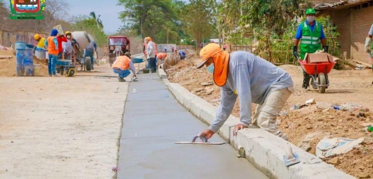 Obra de pavimentación de vía de evitamiento presenta un avance de 75%